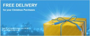 Conrad Christmas Free Delivery Offer